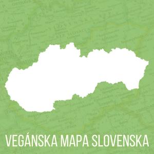 Vegánska mapa Slovenska