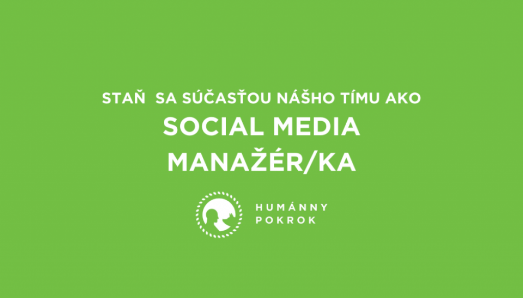 staň sa súčasťou nášho tímu ako Social media manažér_ka – kópia